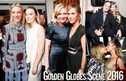 Cate Blanchett, Saoirse Ronan, the Kirsten/Kristen duo, QT, and Suki Waterhouse led the night at W Mag's rare-air bash on Thursday night, January 7, 2015. (BFA Agency, Getty Images)