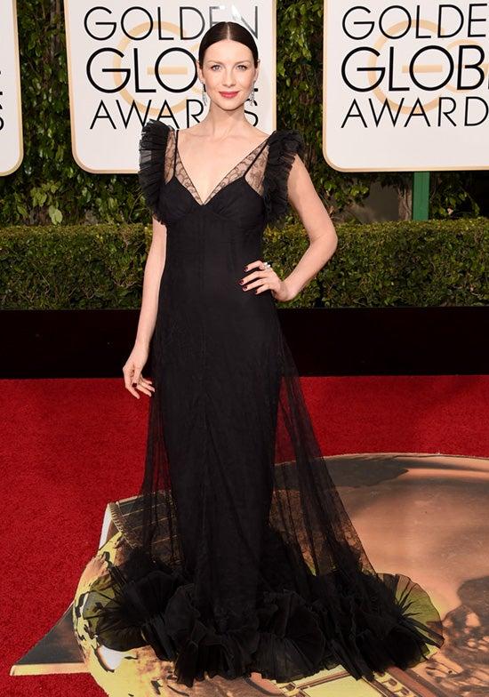 Caitriona Balfe 2016 Golden Globes