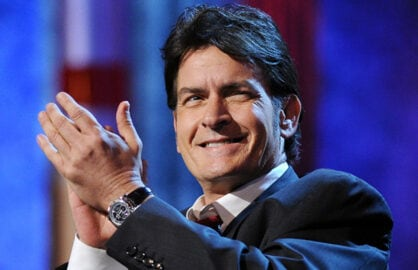 CULVER CITY, CA - SEPTEMBER 10: Charlie Sheen onstage at the COMEDY CENTRAL Roast of Charlie Sheen held at Sony Pictures Studios on September 10,  2011 in Culver City, California. The show airs on Monday, September 19 at 10:00 p.m. ET/PT (Photo by Kristian Dowling/PictureGroup)..
