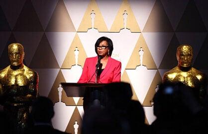 Academy President Cheryl Boone Isaacs February 2015