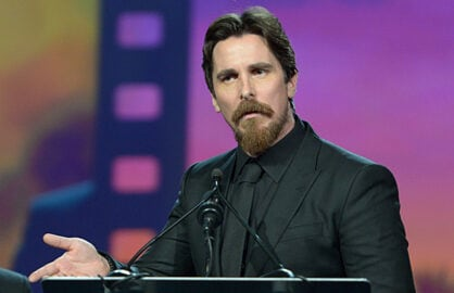Christian Bale at 2016 Palm Springs International Film Festival Awards Gala
