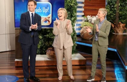 Tony Goldwyn Hillary Clinton Ellen DeGeneres