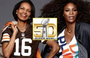Condoleezza Rice and Serena Williams NFL Women Summit