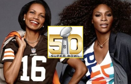 Condoleezza Rice and Serena Williams NFL Women Summit