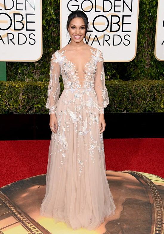 Corinne Foxx 2016 Golden Globes
