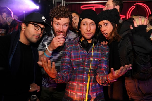"EXCLUSIVE-Park City, UT - 1/18/13 - TAO Sundance 2013 at Village at The Lift - Night 1Truth About Fishes"" -PICTURED: Danny Masterson, Vice, Deb Grimmel -PHOTO by: Seth Browarnik/startraksphoto.com -DSC_2213 Startraks Photo New York, NY For licensing please call 212-414-9464 or email sales@startraksphoto.com"