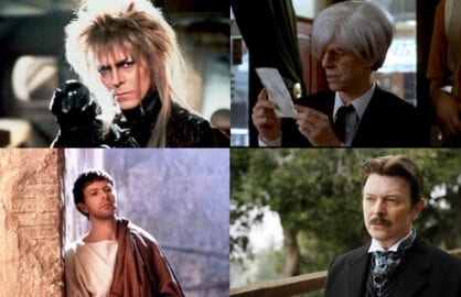 David Bowie Movies and TV
