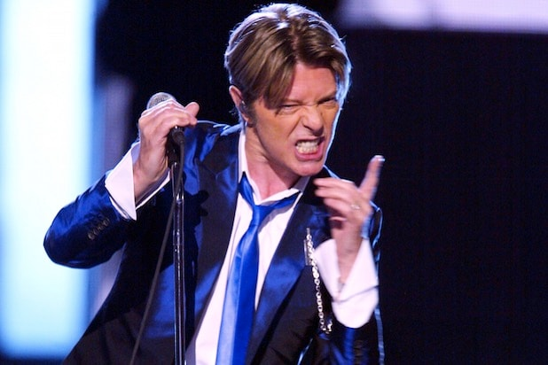 David Bowie in 2002 grammy awards grammys