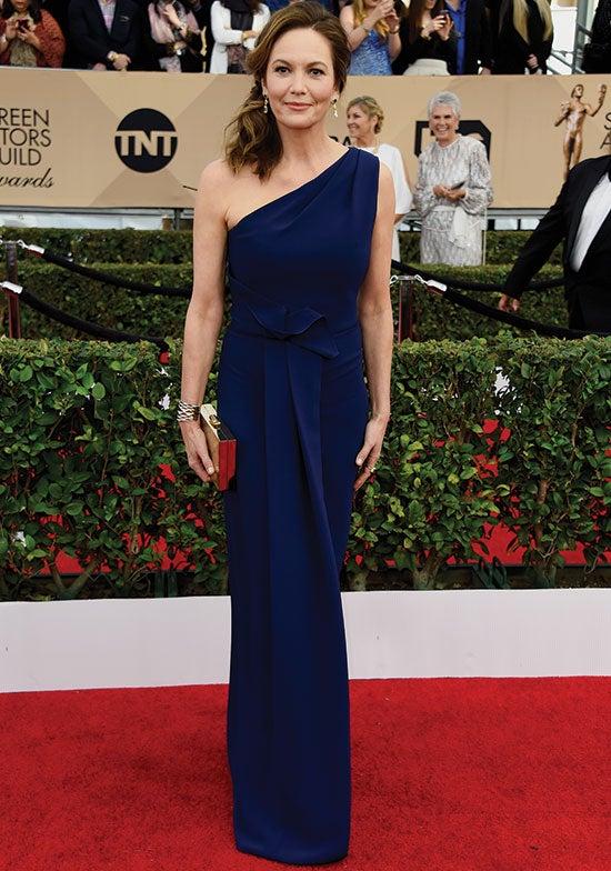 Diane Lane arrives at the SAG Awards