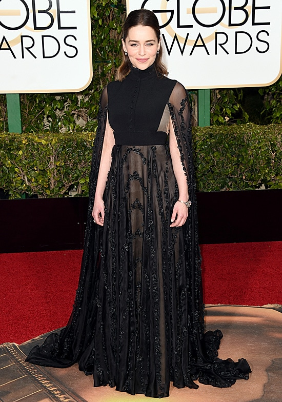 Emilia Clarke 73rd Annual Golden Globe Awards Arrivals