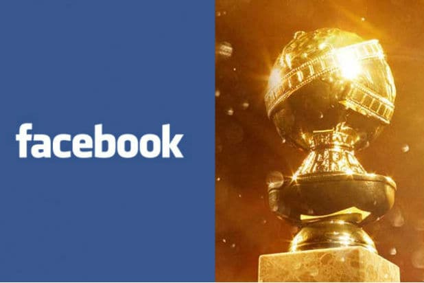 Golden Globes Facebook