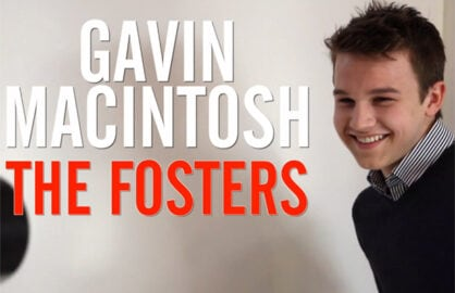 Gavin MacIntosh The Fosters