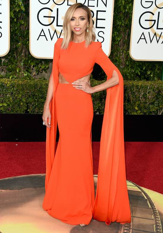 Giuliana Rancic 73rd Annual Golden Globe Awards Arrivals