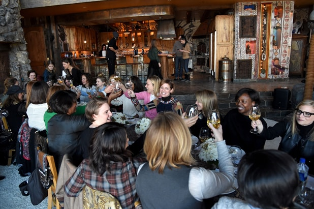 Glamour Women Rewriting Hollywood Lunch At Sundance Hosted By Lena Dunham Jenni Konner And Cindi Leive