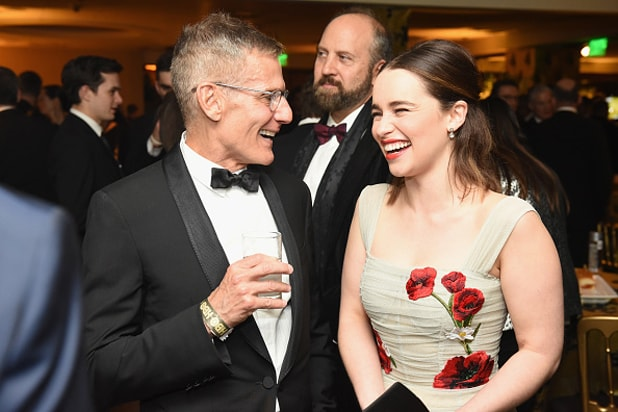 Emilia Clarke HBO Golden Globe Awards Party