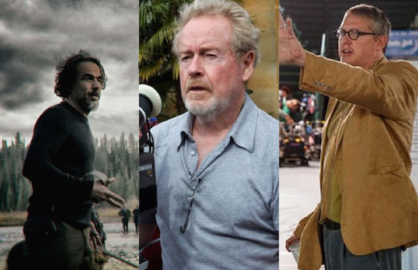 Alejandro G. Inarritu, Ridley Scott and Adam McKay