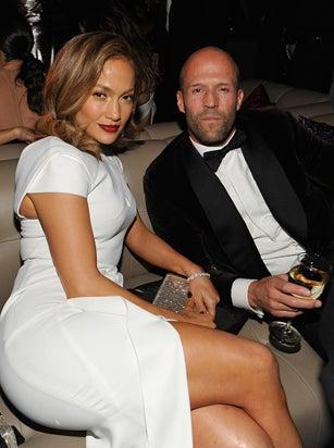 Jennifer Lopez Jason Statham InStyle and Warner Bros Golden Globe Awards Party