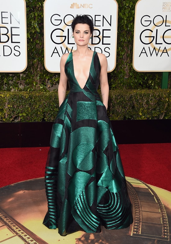 Jaimie Alexander 73rd Annual Golden Globe Awards Arrivals