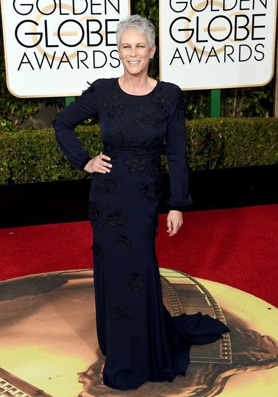 Jamie Lee Curtis 73rd Annual Golden Globe Awards Arrivals