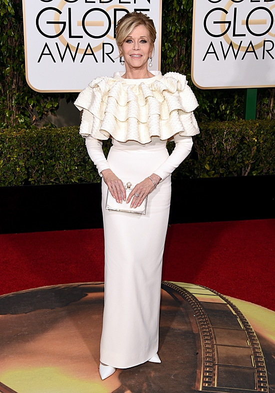 Jane Fonda 73rd Annual Golden Globe Awards Arrivals