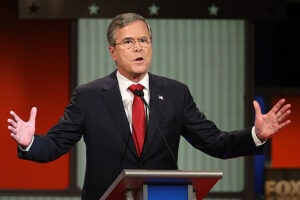 Jeb Bush at GOP Debate Jan 2016