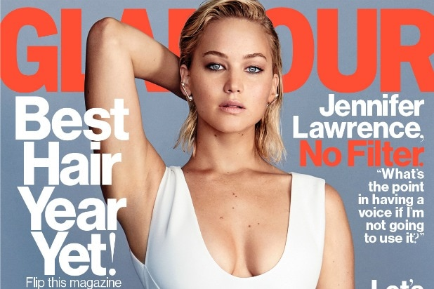 Jennifer Lawrence Glamour Planned Parenthood