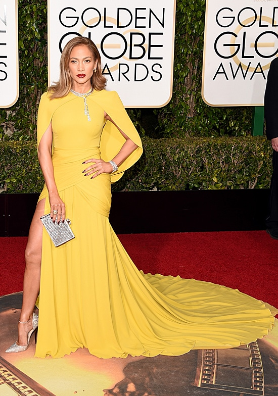 Jennifer Lopez 73rd Annual Golden Globe Awards Arrivals