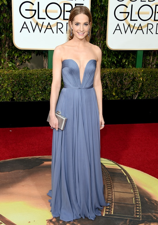 Joanne Froggatt 73rd Annual Golden Globe Awards Arrivals