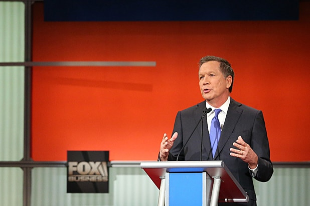 John Kasich at GOP Debate Jan 2016