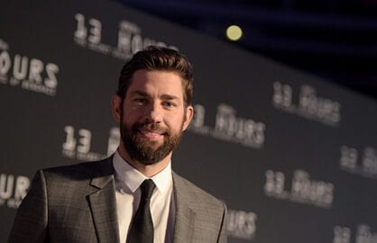 ARLINGTON, TX - JANUARY 12:  Actor John Krasinski attends the Dallas Premiere of the Paramount Pictures film í13 Hours: The Secret Soldiers of Benghazií at the AT&T Dallas Cowboys Stadium on January 12, 2016 in Arlington, Texas.  (Photo by Jason Kempin/Getty Images for Paramount Pictures)