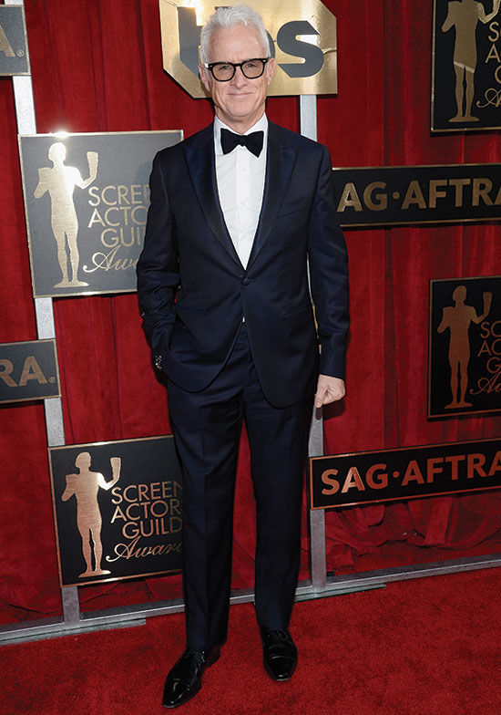 John Slattery arrives at the SAG Awards