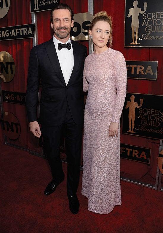 Jon Hamm Saoirse Ronan