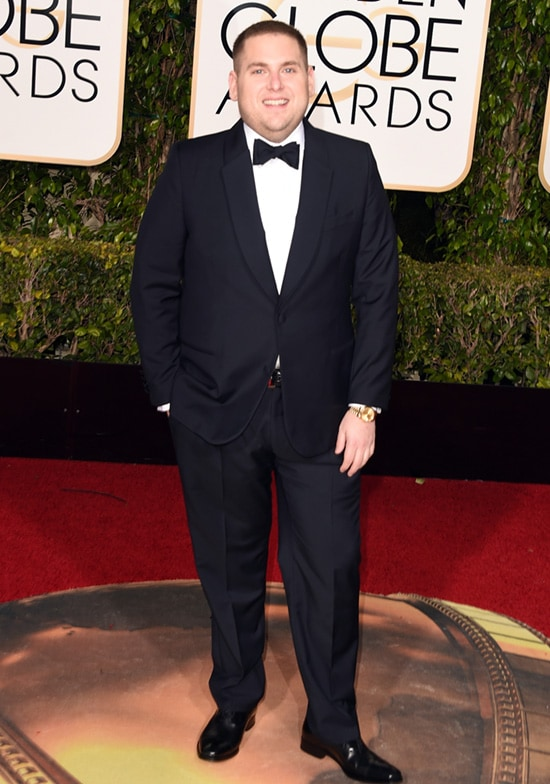 Jonah Hill 2016 Golden Globes