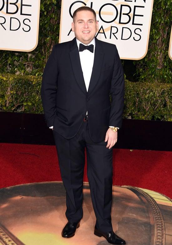 Jonah Hill 2016 Golden Globes