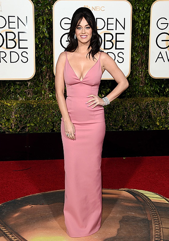 Katy Perry 73rd Annual Golden Globe Awards Arrivals