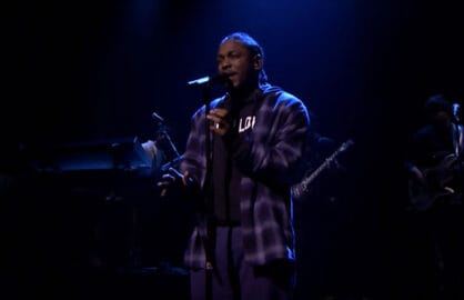 "Kendrick Lamar debuts new single on ""Fallon"""