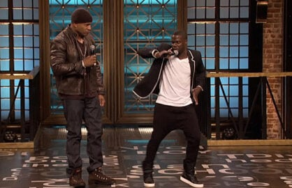 Kevin Hart & LL Cool J on Lip Sync Battle