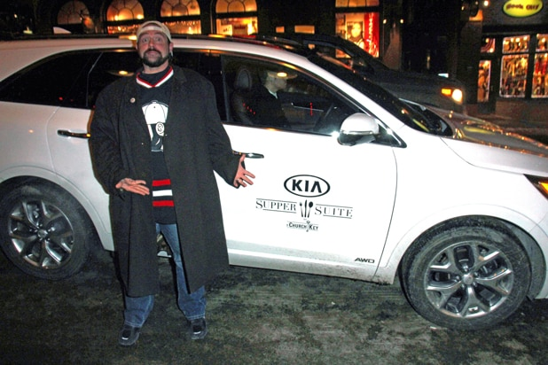 Kevin Smith Kia Sorento Celebrity Rides Park City