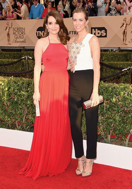 Kristen Wiig arrives at the SAG Awards