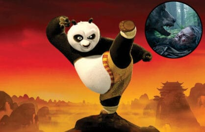 Kung Fu Panda 3 and The Revenent