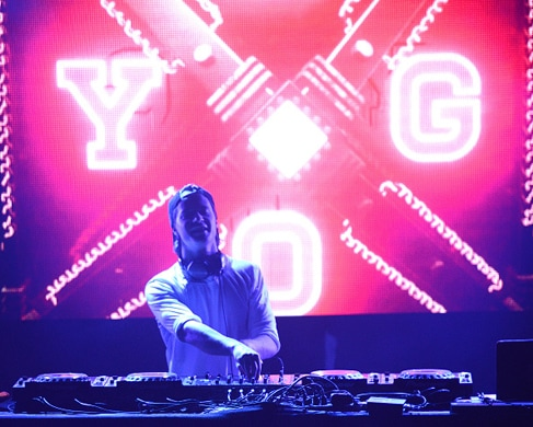 PARK CITY, UT - JANUARY 24: DJ/Producer KYGO performs during the 2016 Sundance Film Festival at Park City Live! on January 24, 2016 in Park City, Utah. (Photo by C Flanigan/Getty Images)