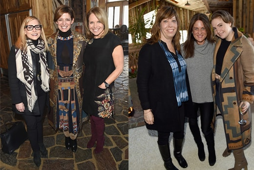 Glamour's Women Rewriting Hollywood Lunch at Mimi Griswold's ornate home (there is a hot tub and a river in the living room) brought power women together: Dawn Ostroff, host Cindi Leive, Katie Couric, WIF's Kristen Schaffer and Cathy Schulman, and Lena Dunham.