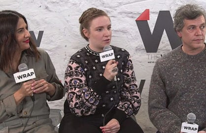 Lena Dunham at Sundance