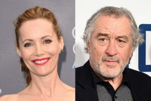 "Leslie Mann, Robert De Niro for ""The Comedians"""