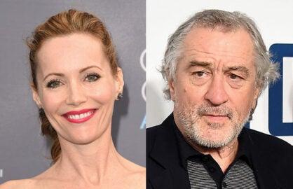 "Leslie Mann, Robert De Niro for ""The Comedians"""