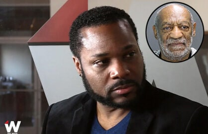 Malcolm Jamal Warner and Bill Cosby