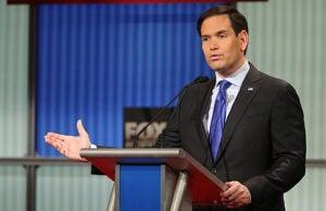 Marco Rubio at GOP Debate Jan 2016