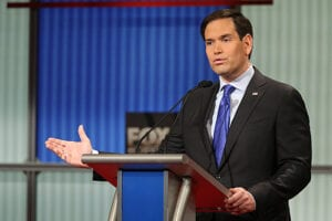 Marco Rubio at GOP Debate Jan 2016