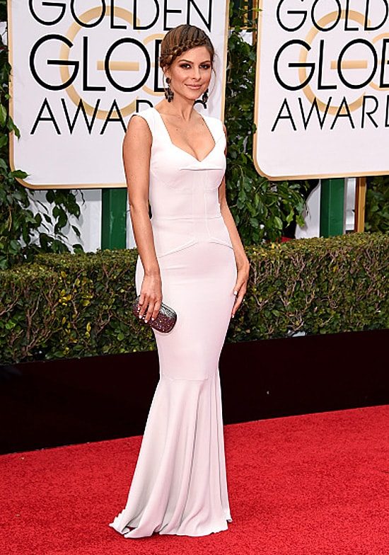 Maria Menounos 73rd Annual Golden Globe Awards Arrivals