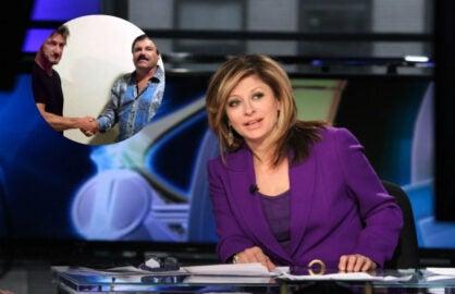 Maria Bartiromo Sean Penn El Chapo